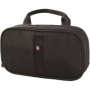Victorinox Overnight Essentials Travel Toiletry Kit(Black)