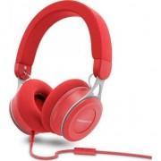 Casca audio Energy Urban 3, on-ear, microfon, cablu detasabil, rosu