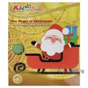 Karácsonyi színező ajándék készítő album Kiddo Books