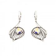 Kolczyki srebrne z kryształami Swarovskiego K 1644 : Kolor - Crystal AB
