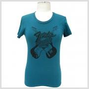Dámske tričko INNOVATION Fender, krátke, zelené,L