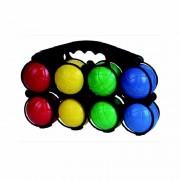 Gekleurde jeu de boules set
