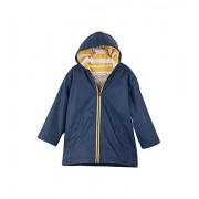 Hatley Splash Chaqueta para niño, Azul Marino/Amarillo, 6