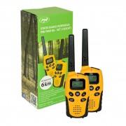 Statie radio PMR portabila PNI PMR R6 set cu 2 buc fara incarcator