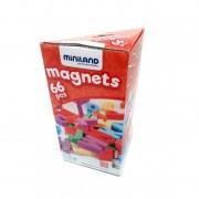 Set 66 litere mari magnetice Miniland