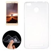 New Xiaomi Redmi 3 Ultra-thin Transparent TPU Protective Case(Transparent)