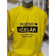 Tričko včelárske - pozor včelár(Neuvedený)