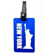 BND Fashions New York Luggage Strap, Luggage Tag(Blue)