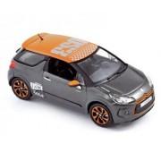 NOREV - CITROEN DS3 Racing 2010 Grey with orange roof