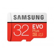 Card memorie Samsung MB-MC32GA EU, Micro-SDHC, EVO Plus, 32GB, rata transfer r w 95 20 MB s, Class 10, UHS-I, (Adaptor SD inclus)