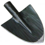 Pala forgiata a punta modello Treviso senza manico 21x24