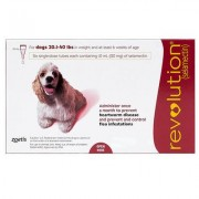 Revolution For Medium Dogs 20.1-40lbs (Red) 6 Doses