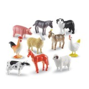 Set 60 de figurine - Animale domestice - Ferma - Learning Resources