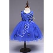 Lejdi Chabrowa sukienka tiulowa ozdobiona kwiatami sukienki dla dziewczynek