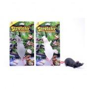 Merkloos 3x Speelgoed huisdier rat 28 cm