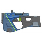 PDP Borderlands 3 Maliwan Pistol Replica Weapon, 878-063-NA-MAL Not Machine Specific