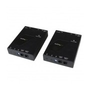 StarTech.com Kit Extensor de Video y Audio HDMI IP por Red Gigabit Ethernet, Cable UTP Cat6 RJ-45