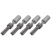 LEGO Technic NEW 4 pcs LIGHT GREY CV JOINT + 4 pcs DARK GREY CV JOINT AXLE wheel connector steering part piece 92906 32494 chassis car truck Mindstorms robot NXT