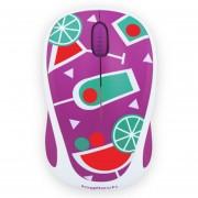 Mouse Logitech M238 Con Dibujos Animados Ratón Inalámbrica -Vino