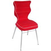 Entelo Krzesło VISTO 4 (czerwony)