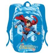 Ghiozdan, albastru, SUPERMAN 3D
