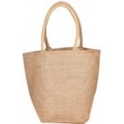 PRAHAN INTERNATIONAL Carry Bag Designer Natural Juit Hand Carry Bag with two Handle Strap PS2008A(Natural Jute)