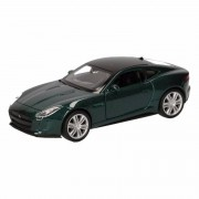 Jaguar Speelgoed donkergroene Jaguar F-Type coupe auto 12 cm - Action products
