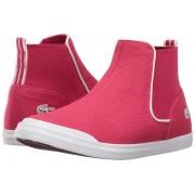 Lacoste Lancelle Chelsea 316 1 SPC (Little Kid) Dark Pink