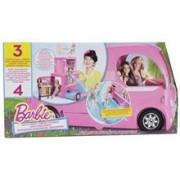 Jucarie Barbie Pop-Up Camper Vehicle Doll