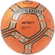 uhlsport Fußball INFINITY LITE 350 MATCH 2.0 - fluo rot/silber/schwar