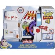 Mattel Toy Story 4 Minis Buzz Lightyears Star Abenteurer Playset