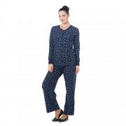 Carole Hochman Completo: maglia manica lunga e pantaloni con coulisse (2pz)