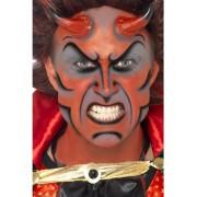 Kit machiaj Halloween diavol cu coarne