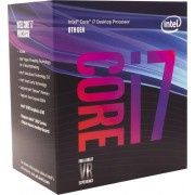 CPU Intel Core i7 8700 (3.2GHz do 4.6GHz, 12MB, C/T: 6/12, LGA 1151v2, cooler, 65W, UHD Graphic 630), 36mj