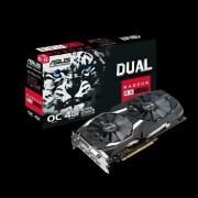 VC, ASUS DUAL-RX580-O4G, 4GB GDDR5, 256bit, PCI-E 3.0