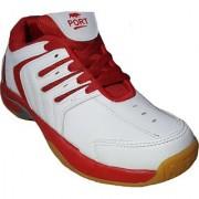 Port Mizuno Men's Multicolour Lace-up Tennis Shoes