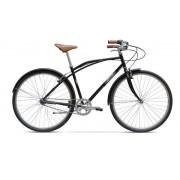 "Bicicleta Pegas Magistral, Cadru 18.5"", Roti 28"", 3 Viteze (Negru)"