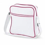 Cestovní taška Retro - bílá