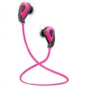 Kitsound Auricolare Bluetooth Trail Sport Earbuds Universale Pink Per Modelli A Marchio Brondi