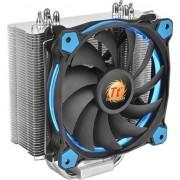 Cooler Procesor Thermaltake Riing Silent 12, Compatibil Intel/AMD, Albastru