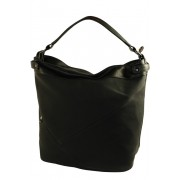 Poppy módní kabelka - vak černá