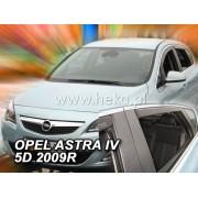 Deflektory komplet 4 ks pre OPEL Astra , 2009-