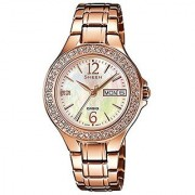Casio Sheen Analog Multi-Color Dial Womens Watch - She-4800Pg-9Audr (Sx099)