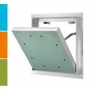 RUG Semin AluQuattro® Revisionsklappe - 12,5 mm - 400 x 400 mm