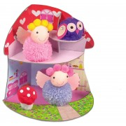 SET CREATIV - FAIRY POMPOM HOUSE - GALT (1004921)