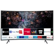 Televizor LED curbat Smart Samsung, 123 cm, 49RU7302, 4K Ultra HD