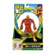 Set 10 figurine transformabile Ben 10 Deluxe and ndash Torta Vie