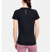 Under Armour Damesshirt UA RUSH™ Seamless met korte mouwen - Womens - Black - Grootte: Large