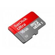 16 GB Micro SDHC UHS-I Sandisk Ultra
