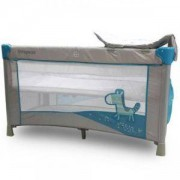 Детска кошара за спане и игра Zebra - синя, Cangaroo, 356179